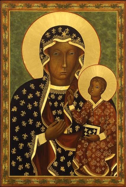 icon of Our Lady of Czestochowa Marek Czarnecki